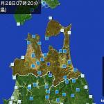 青森市で初雪観測 気象台統計開始から最も遅く