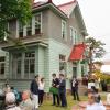 青森・弘前大の構内に「大正ロマンのカフェ」がオープンした。