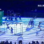 リオ・五輪閉会式 「青森大学新体操部」20人躍動すごいぞ!