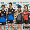 青森ニュース「卓球日本代表」選手の「新ユニホーム」を発表した!
