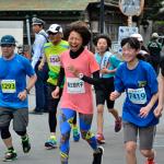 第6回 走れメロスマラソン大会「加代子スマイルで魅了」