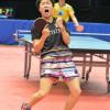 卓球界の「モデル芸人」「神巧也 選手」短パンも虹の柄で勝負!