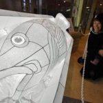 青森の街に「灯りの彫刻」2月11日まで!綺麗!